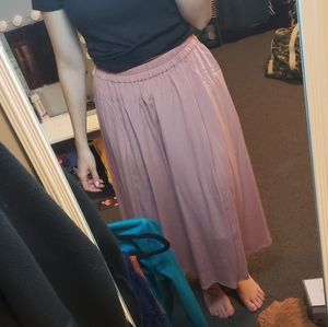 Vintage Dusty Pink skirt with pockets